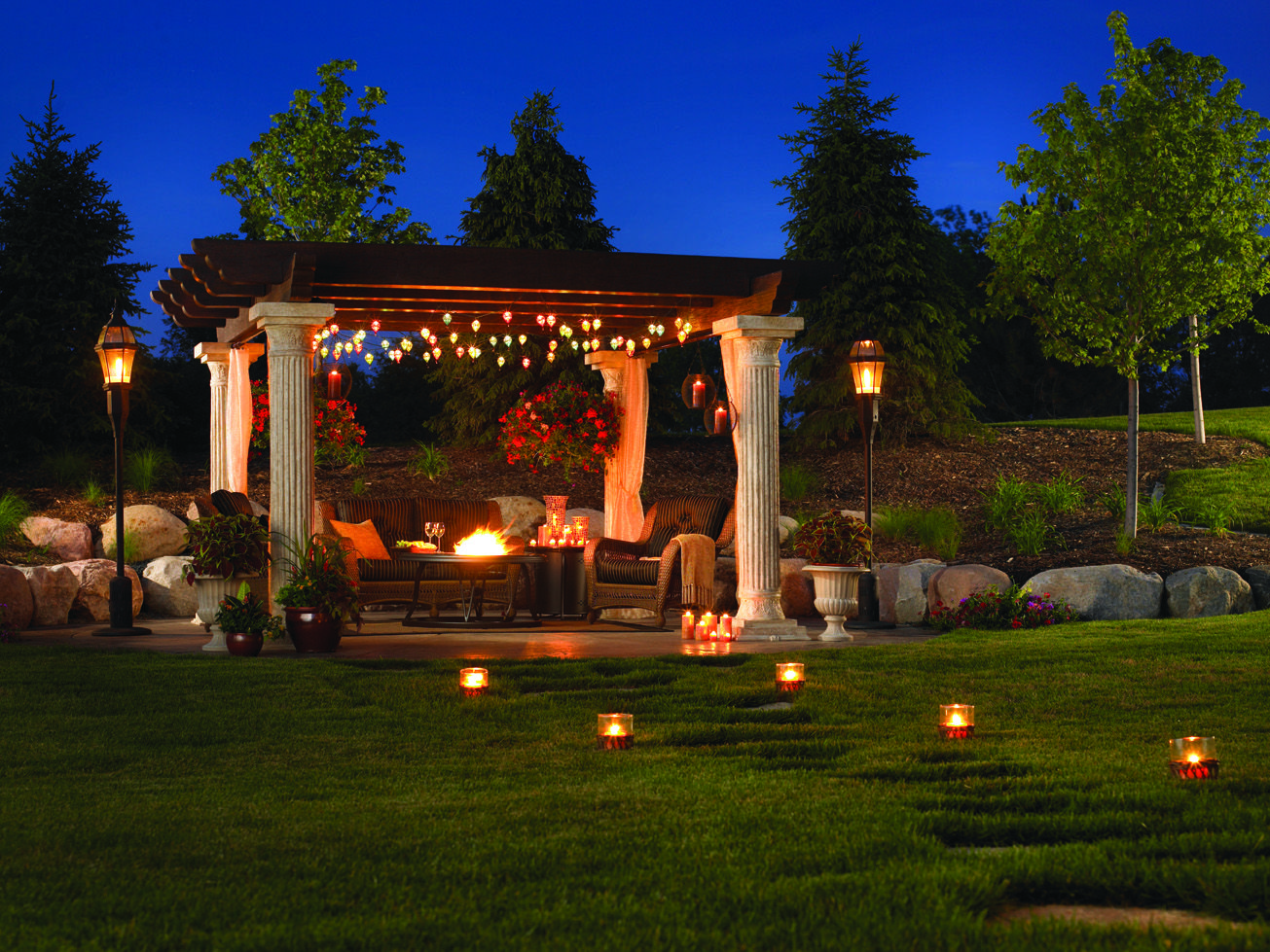 tuscan backyard landscape landscaping specialty gardens llc