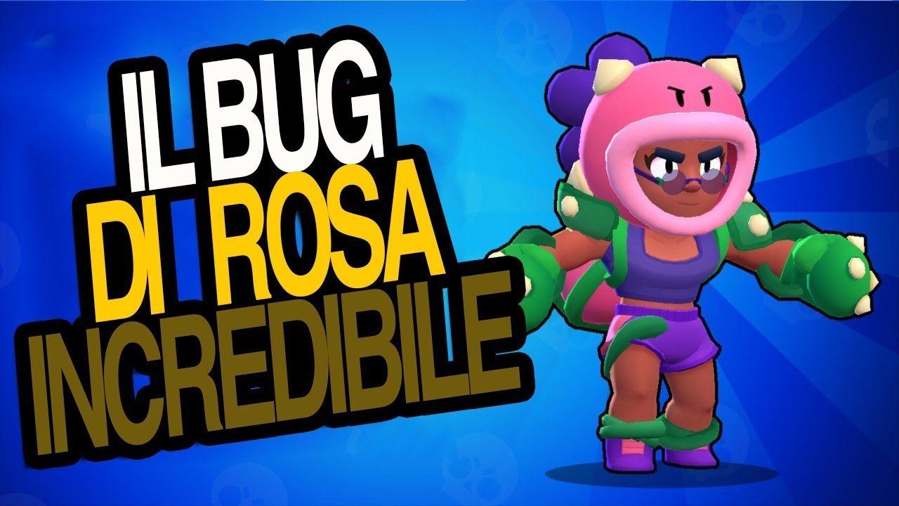 Bug Dell Attacco Del Nuovo Brawler Rosa Brawl Stars Ita Biglietti Compleanno Fai Da Te Pokemon Playlist