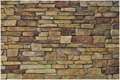 How To Paint A Faux Stone Wall Faux Stone Walls Faux Stone