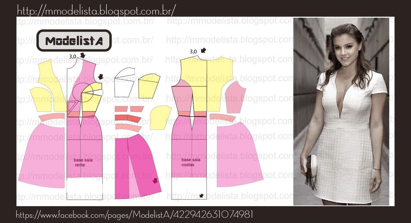 DECOTE PROFUNDO | Coser vestido, Costura y Vestidos de dama