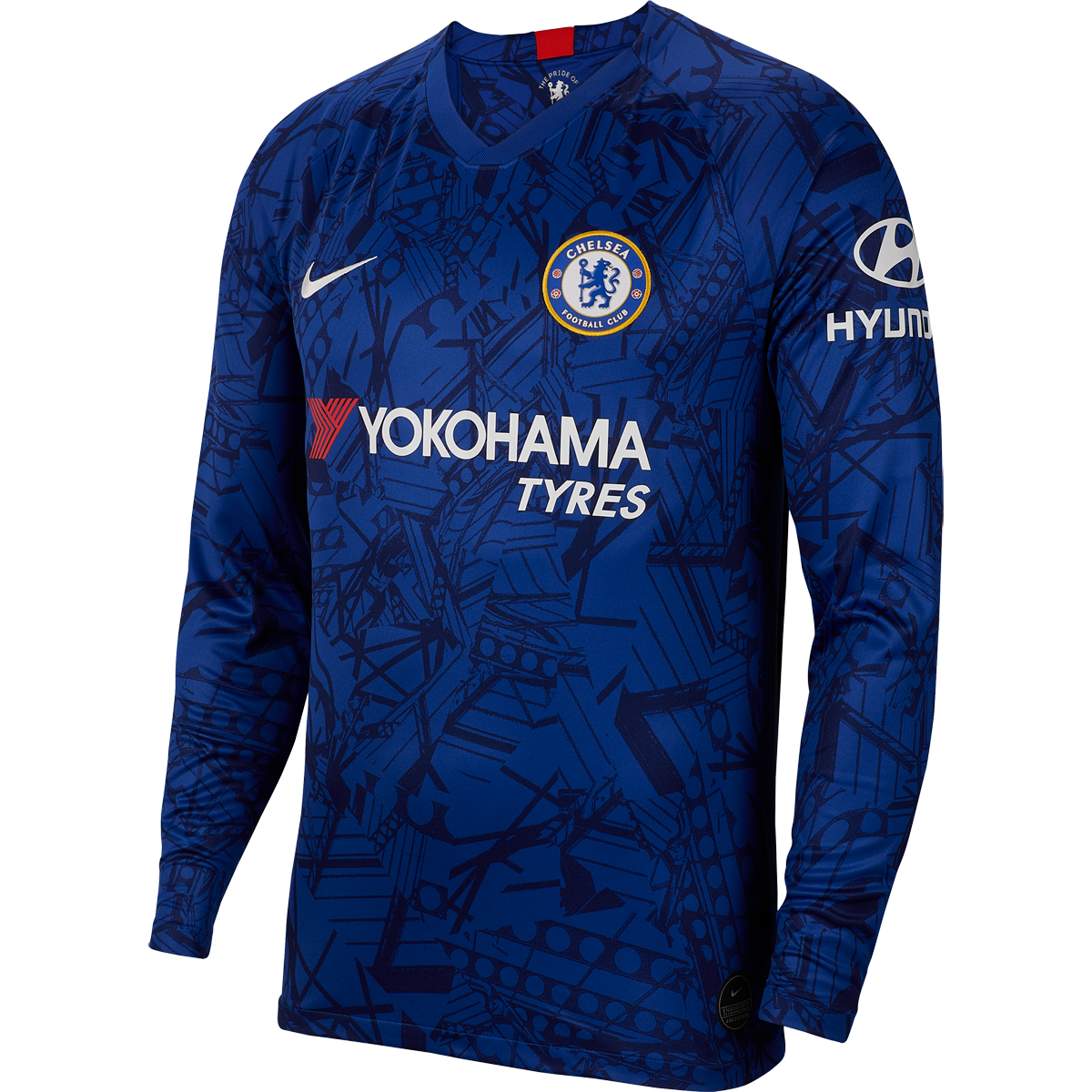 Nike Chelsea Long Sleeve Home Jersey 19/20-2xl | Chelsea football ...