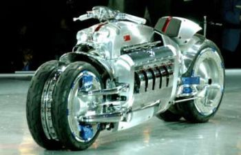 World S Most Expensive Motorcycles Dodge Tomahawk V10 555 000