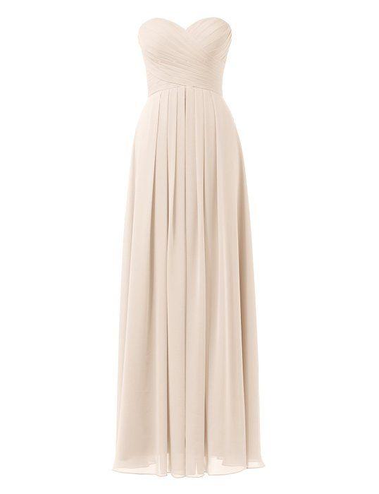 Remedios A-Linie Chiffon Brautjungfernkleider ballkleid Abendkleider ...