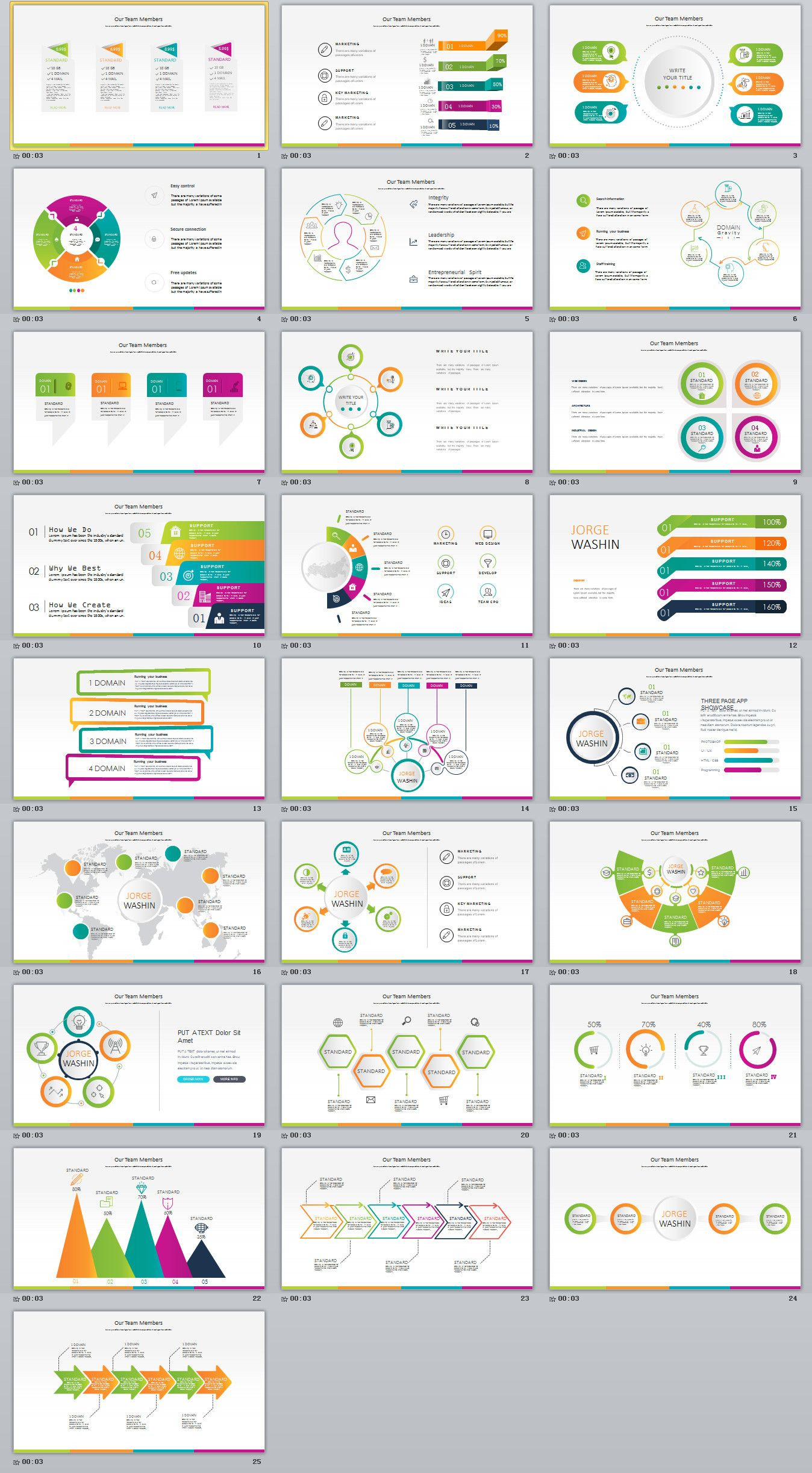 27 red business year plan powerpoint template powerpoint