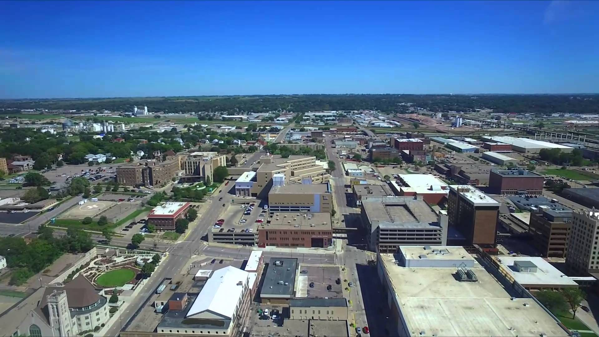 Drone Flight 9 12 15 Sioux City Downtown With Images Sioux