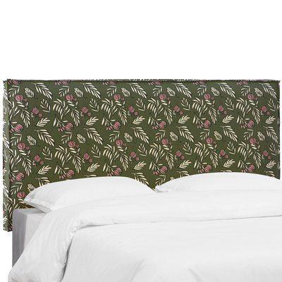 Brayden Studio Mariela Seam Slipcover Debris Floral Upholstered ...