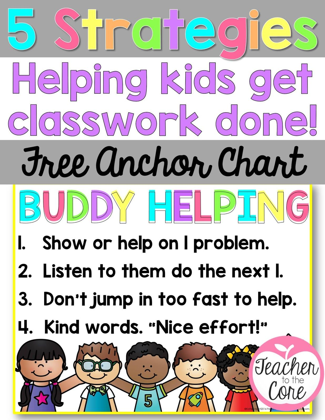 Buddies Who Are Already Done Can Help Slower Workers Get Classwork