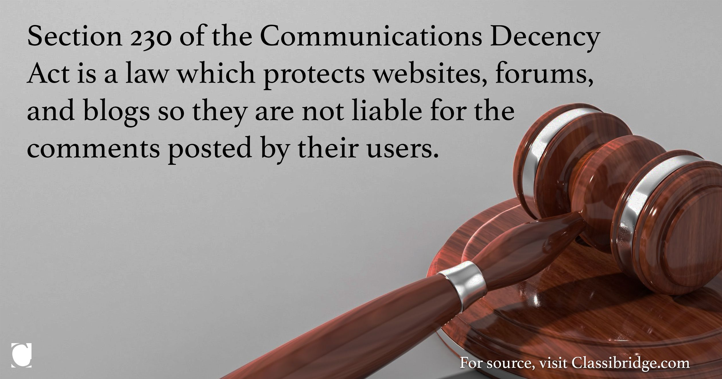 Section 230 Protects Websites Forums And Blogs Decency Communications Blog