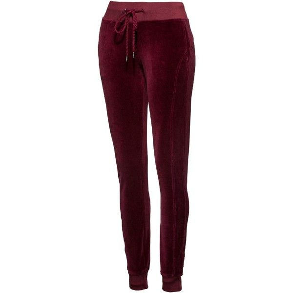 7ca953e51f75 FENTY Women s Velour Fitted Track Pant - US ( 150) ❤ liked on Polyvore  featuring activewear