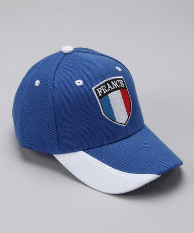 This Royal  France  Flag Baseball Cap is perfect!  zulilyfinds  cf8cde0ee23