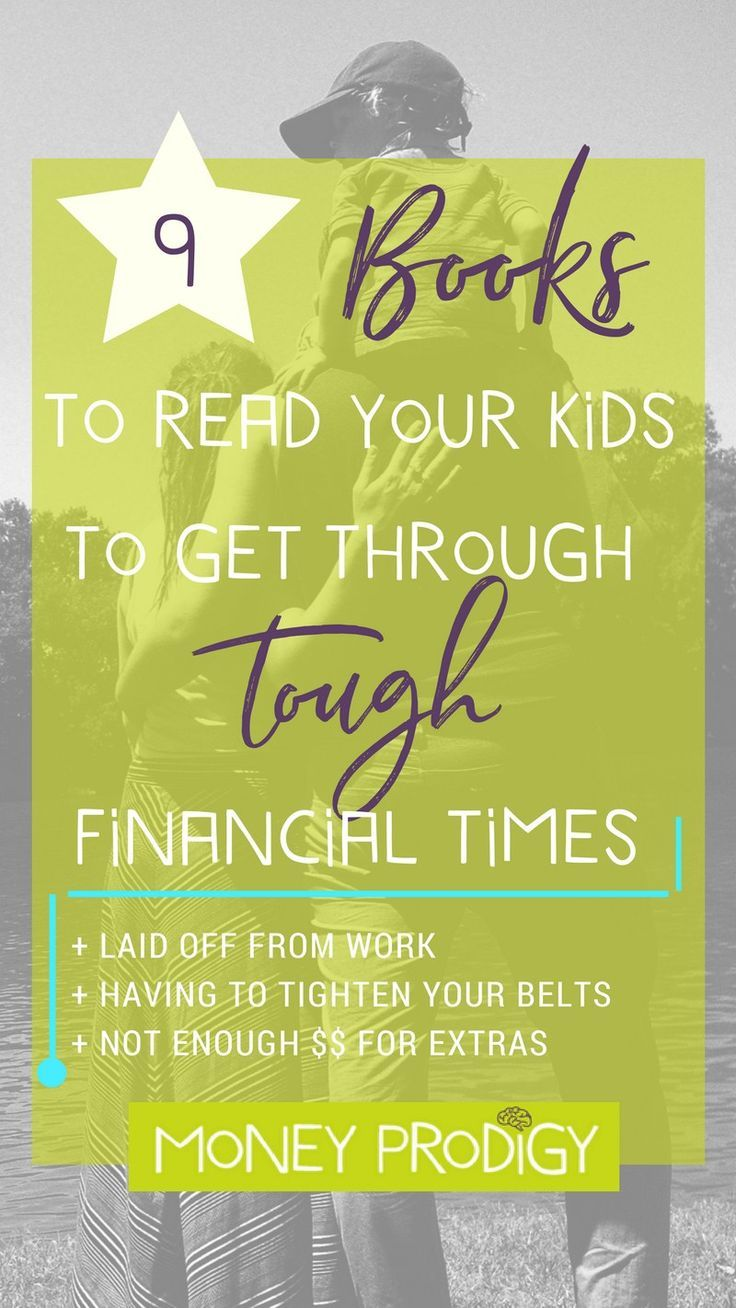 Books that Will Help Your Child Understand Tough Financial Times