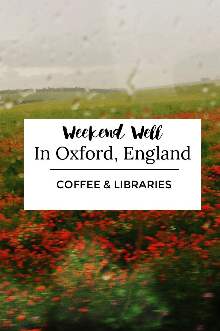 Tour Oxford by bike and find the best places to eat and drink! #Oxford #England #study #abroad #coffeeshops #coffee #travel