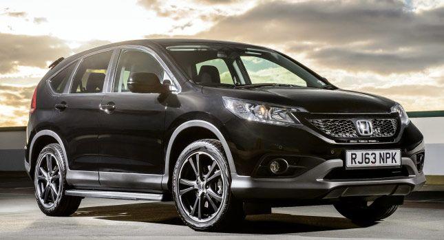 Honda CRV Black and White 2015 a precios desde £ 24.400 en el Reino Unido » Los Mejores Autos  #HondaCRV #honda #hondaisbest