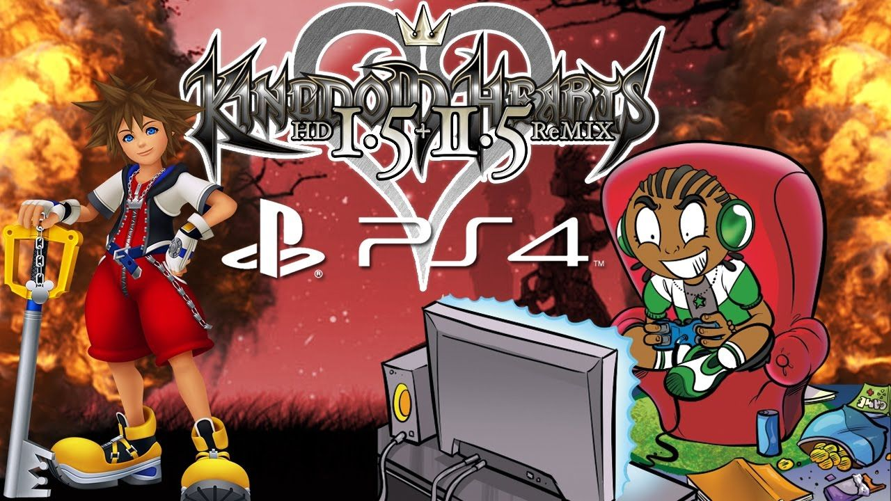 True 4K 60FPS - Kingdom Hearts HD 1.5 ReMIX Final Mix