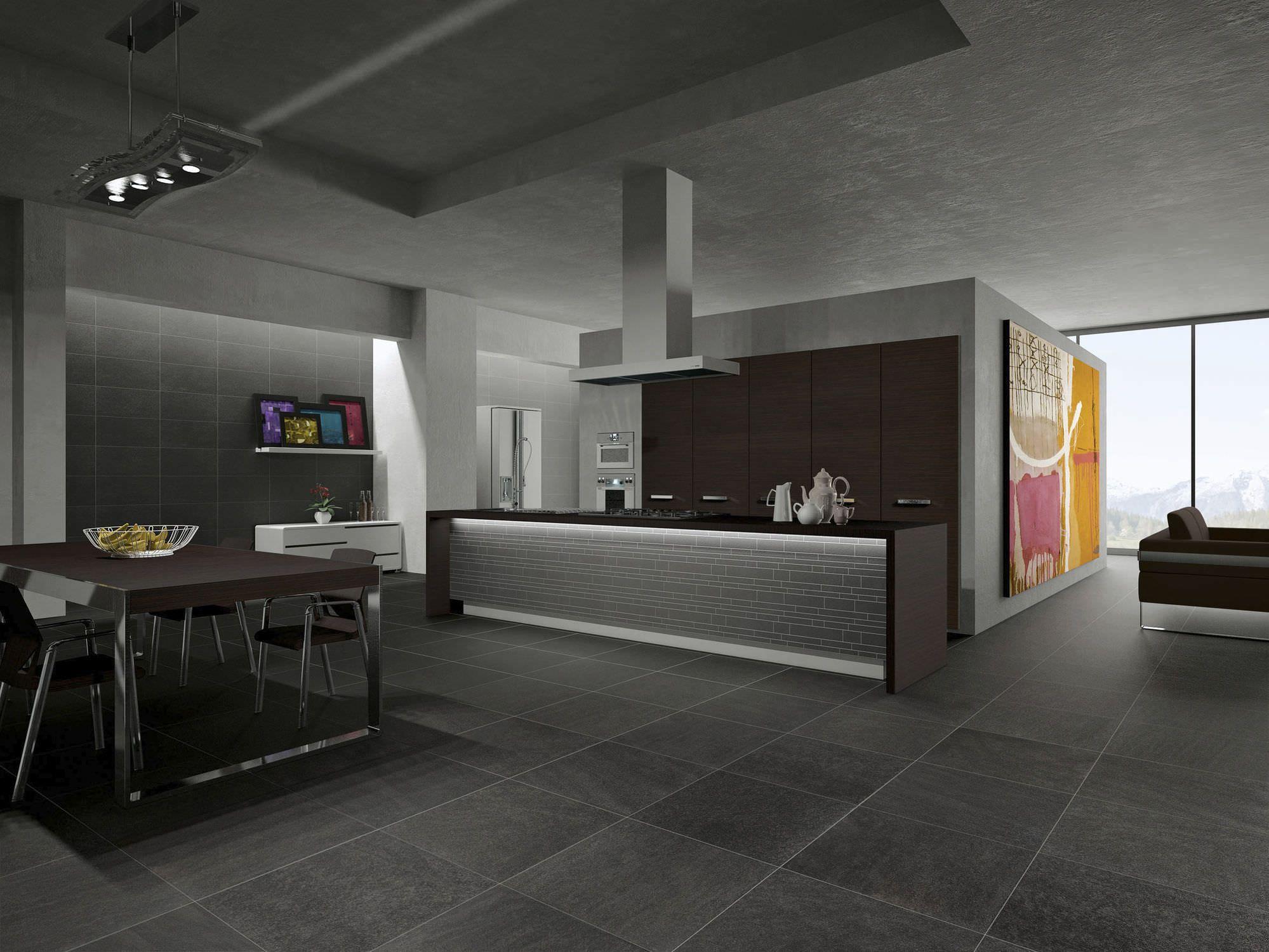 Piastrella per cucina indoor a parete in gres porcellanato
