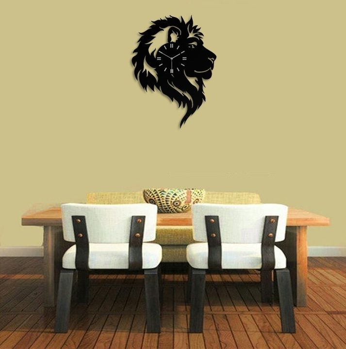 The Lion King Wall Clock - Kids Room Wall Decor - Gift Ideas for ...