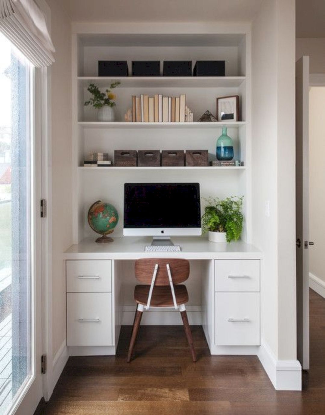 - 16 Top Office Furniture Ideas In 2020 Small Space Office, Home Office  Closet, Home Office Furniture