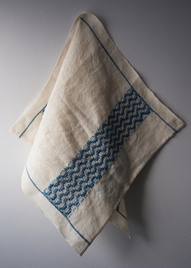 Tidal Towels By Amanda Rataj Weaving Patterns Weaving