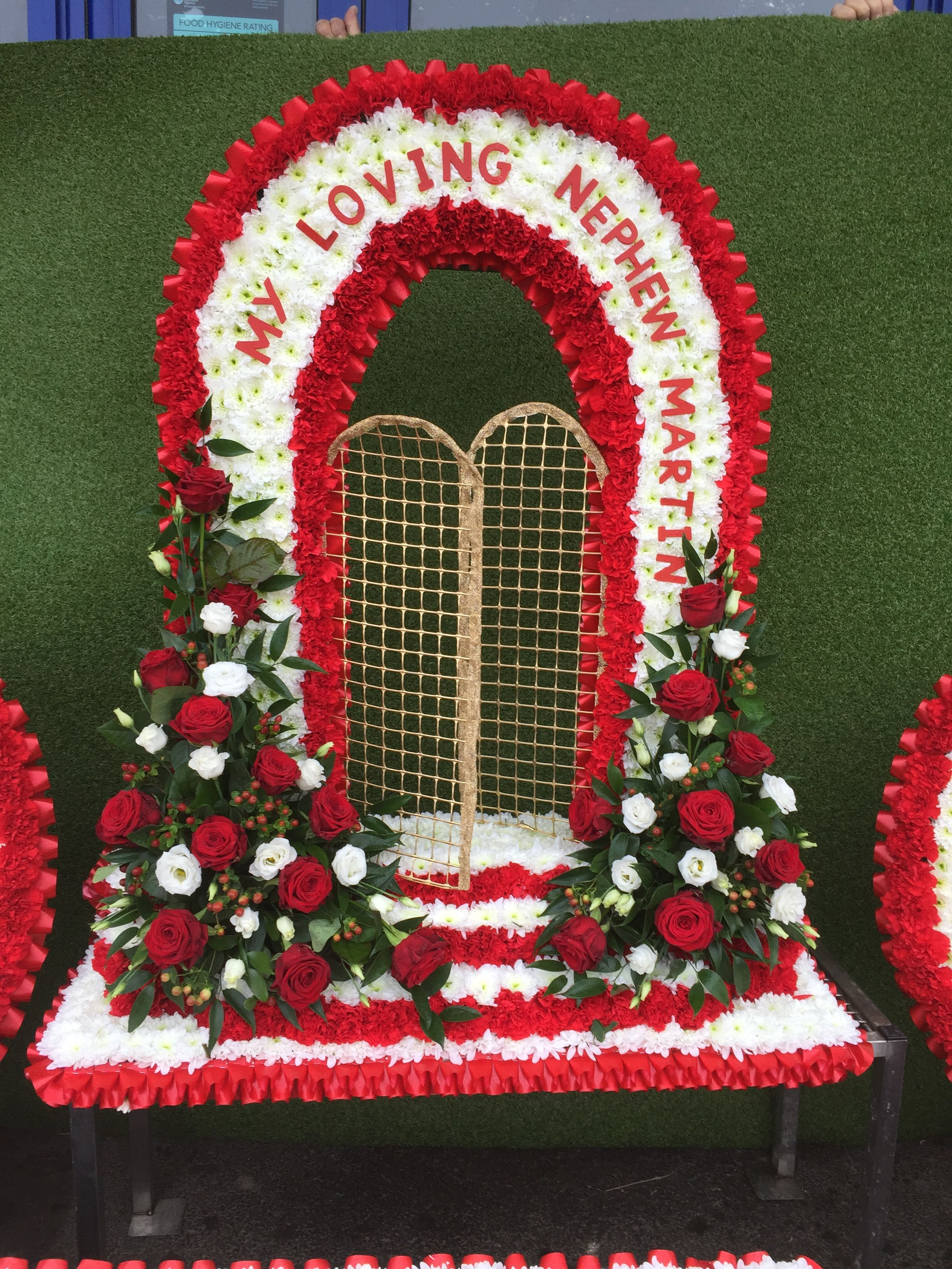 4ft Gates Of Heaven Funeral Flowers Funeral Bespoke Flowers