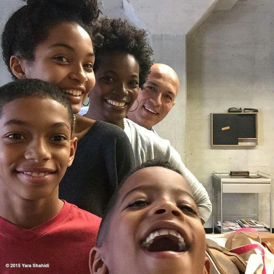 Yara Shahidi and Her Family