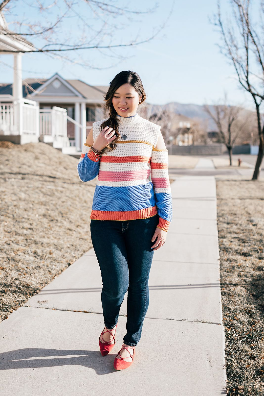 Striped Rainbow Sweater mommy and me fashion mommy and me style ideas mommy and me outfit ideas mom and daughter fashion mommy and me spring fashion fashion ...  sc 1 st  Pinterest & Striped Rainbow Sweater | mommy and me fashion | mommy and me style ...