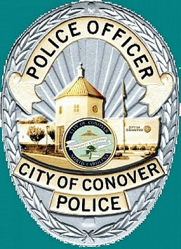 Conover Pd Nc Police Badge Police Fire Badge