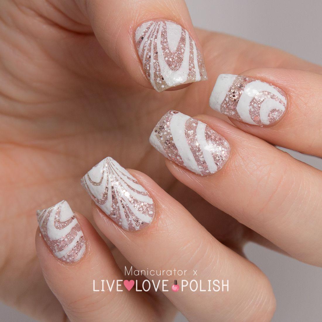 Manicurator Live Love Polish Unt Sand Castle Swatch Watermarble