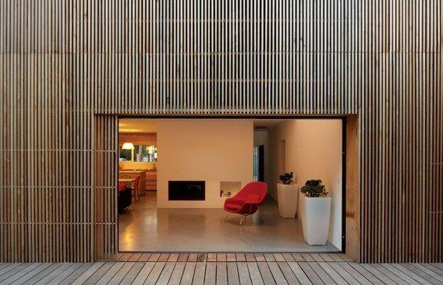 Maison contemporaine écologique