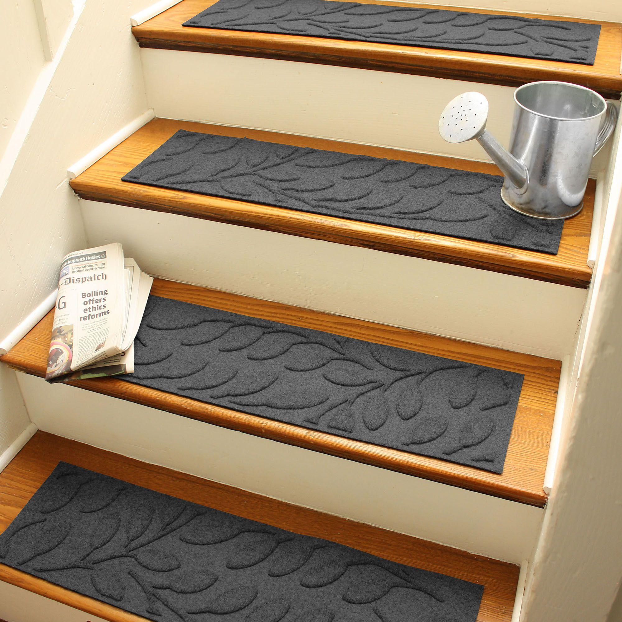 Best Godinez Stair Tread Set Of 13 Carpet Stair Treads 400 x 300