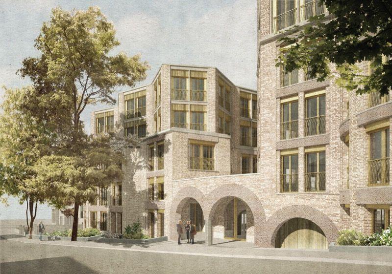 Sergison Bates . Hampstead Housing for older residents . London (4)