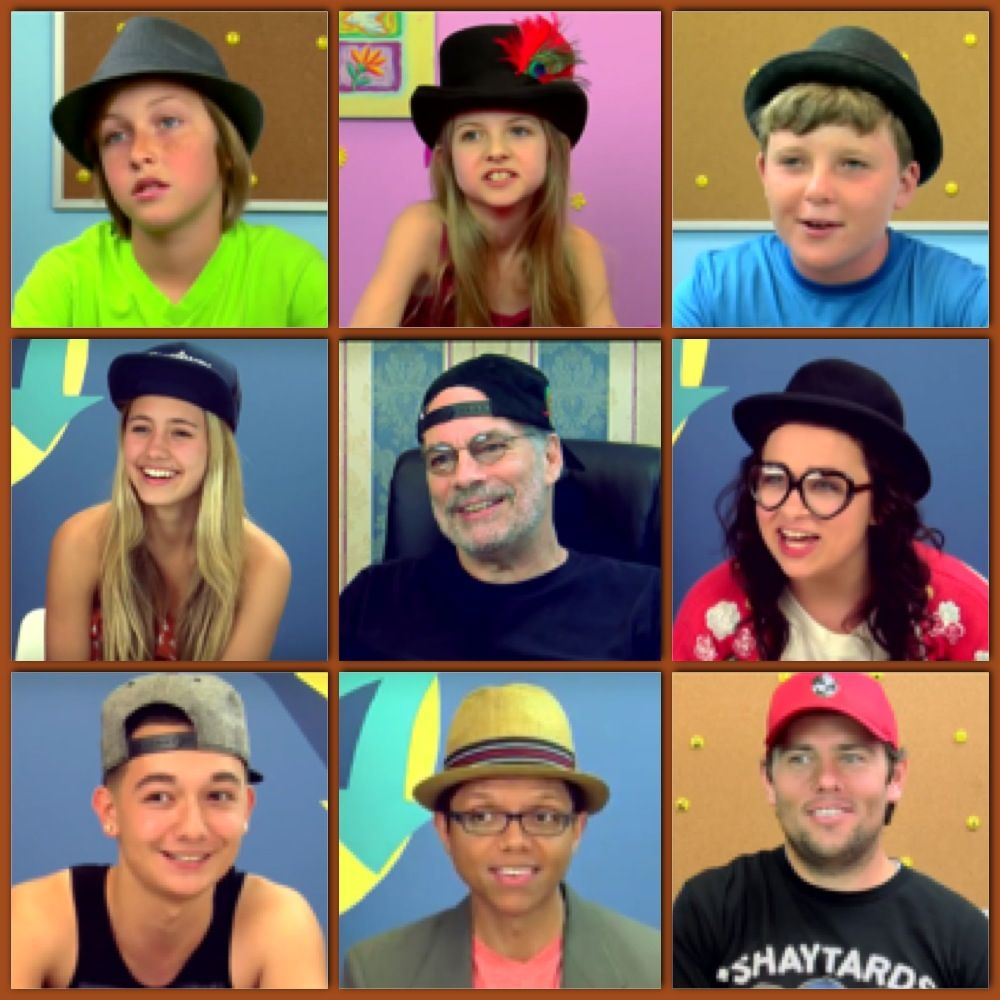 Pictures of React Series cast members who have worn hats ...