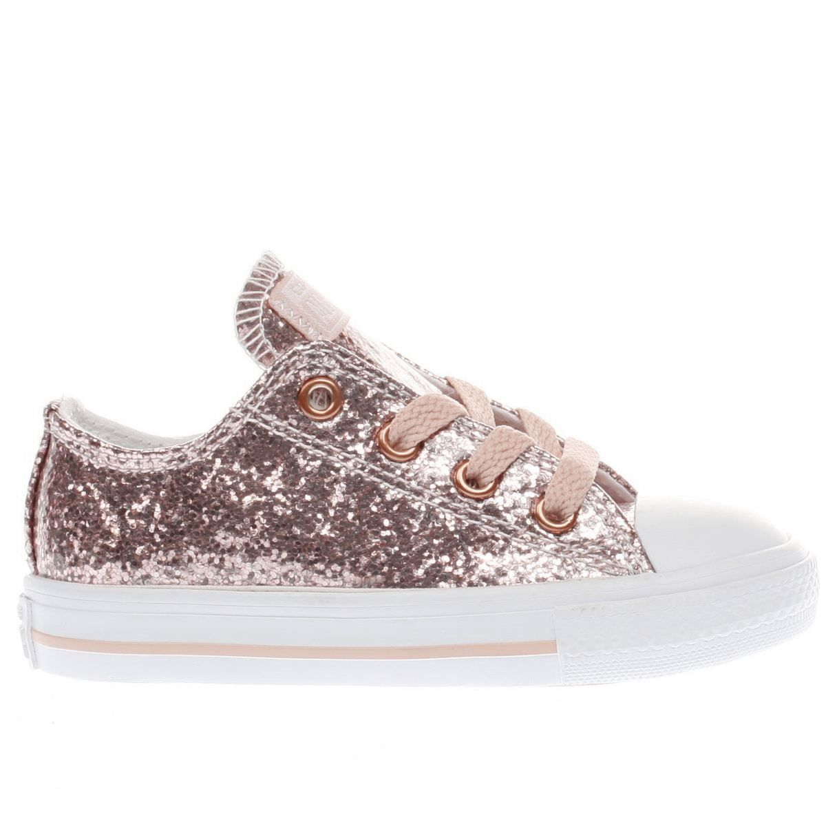 75b15598f4cf kids converse pink all star ox glitter girls toddler