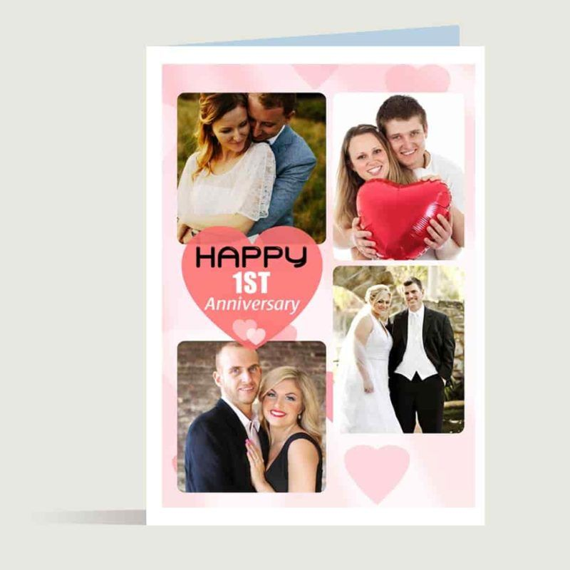 Personalised anniversary greeting card personalised gifts personalised anniversary greeting card m4hsunfo