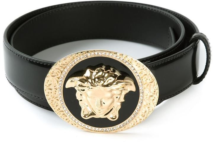 Versace Medusa buckle belt - Men s Fashion   Clothes Make the Man ... 9147b524418