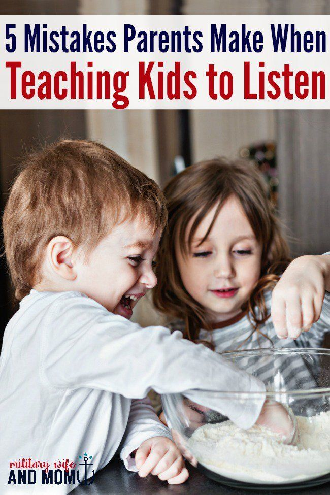 5 Mistakes Parents Make When Teaching Kids to Listen