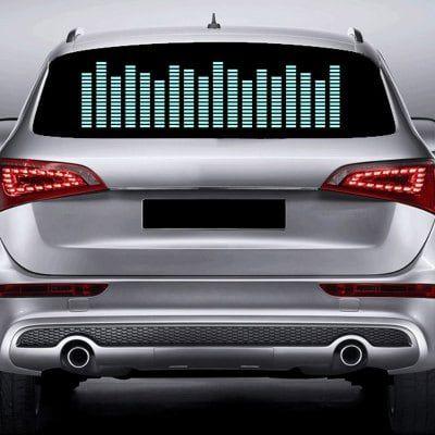 Car Music Rhythm Window Decoration Decorative LED Light