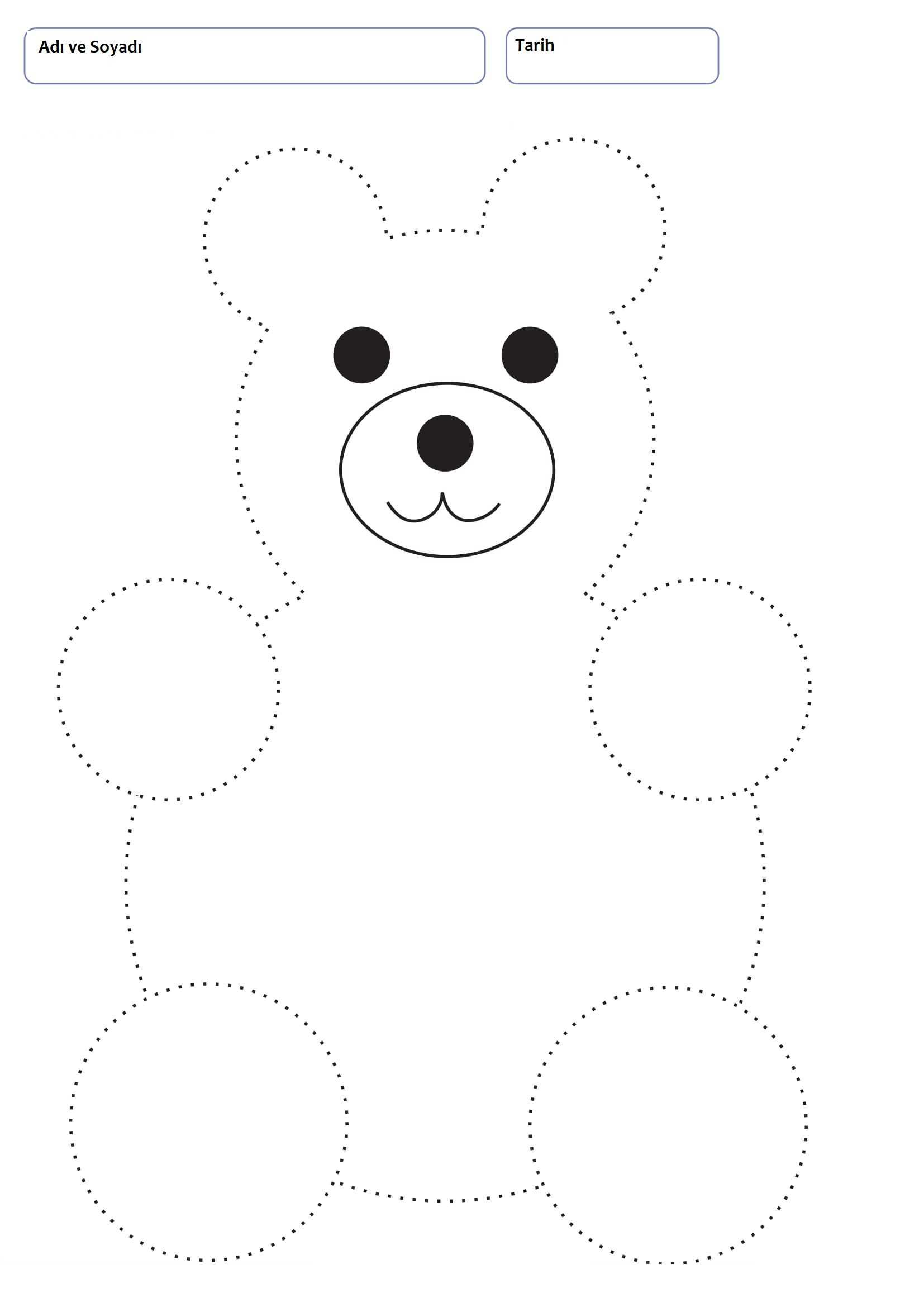 Line Worksheets For 3 Years Old Children