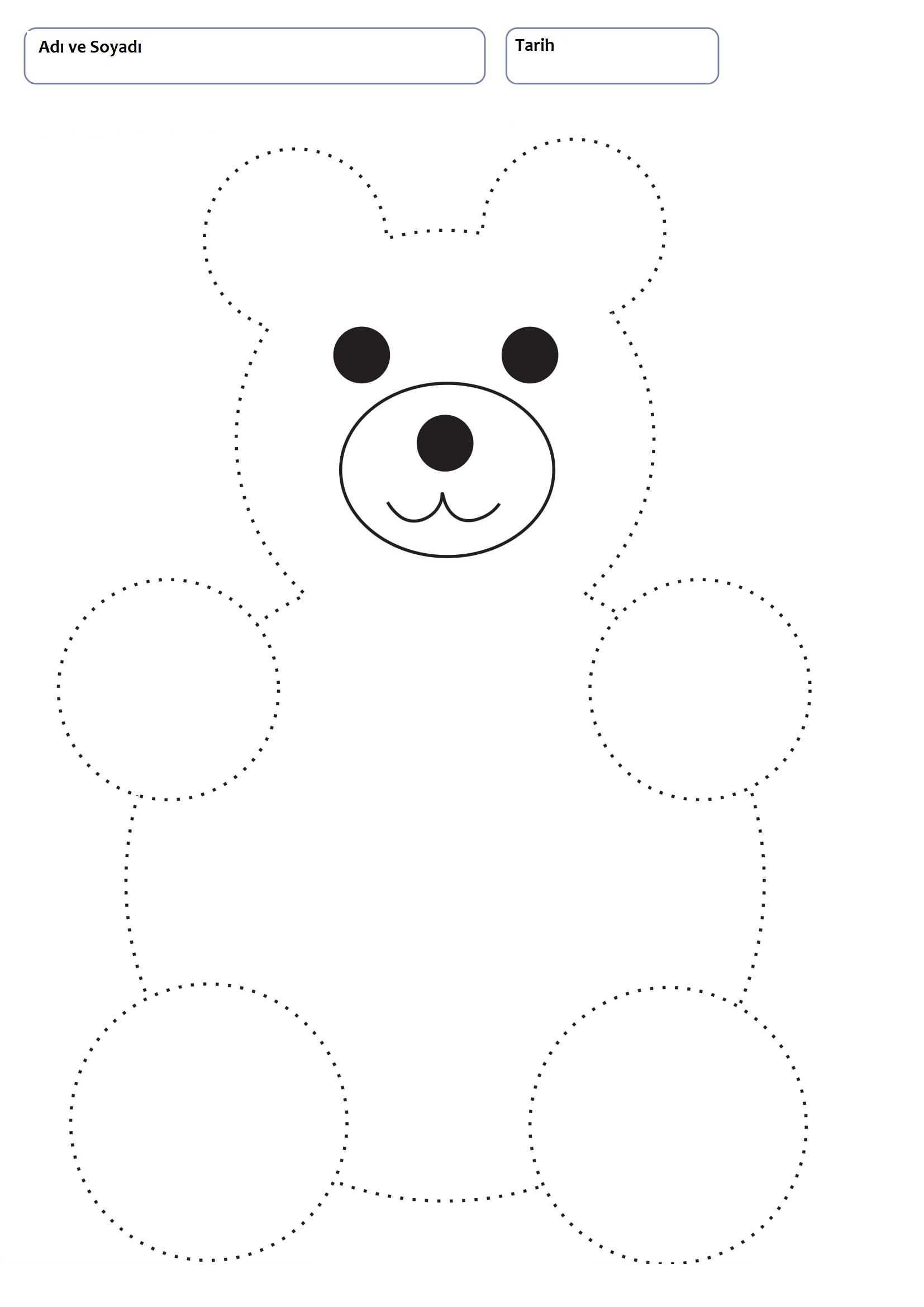 Line Worksheets for 3+ Years Old Children Okul, Okul