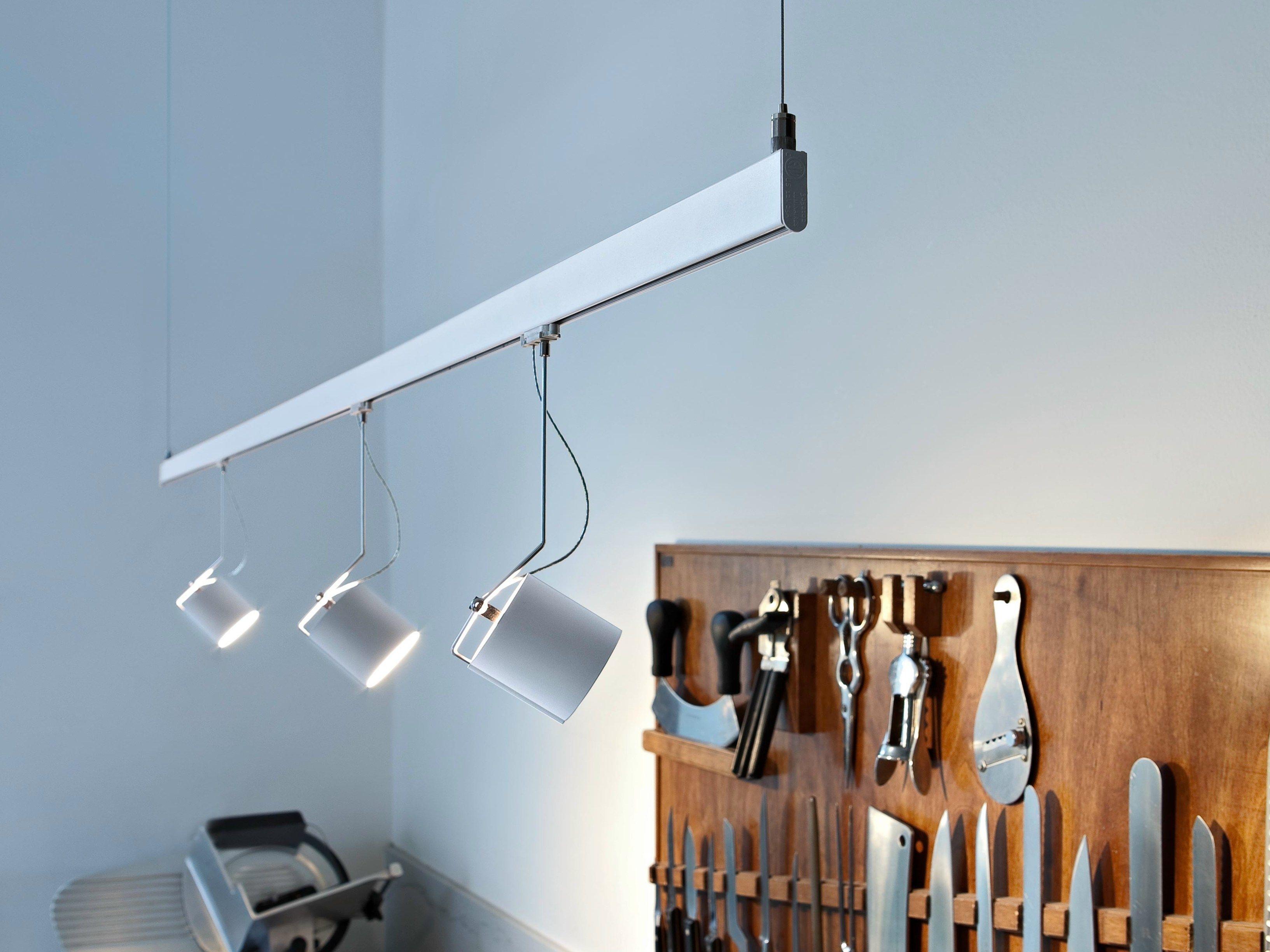 Stromschienen- LED Pendelleuchte aus Aluminium LIGHTLIGHT® PENDANT ...