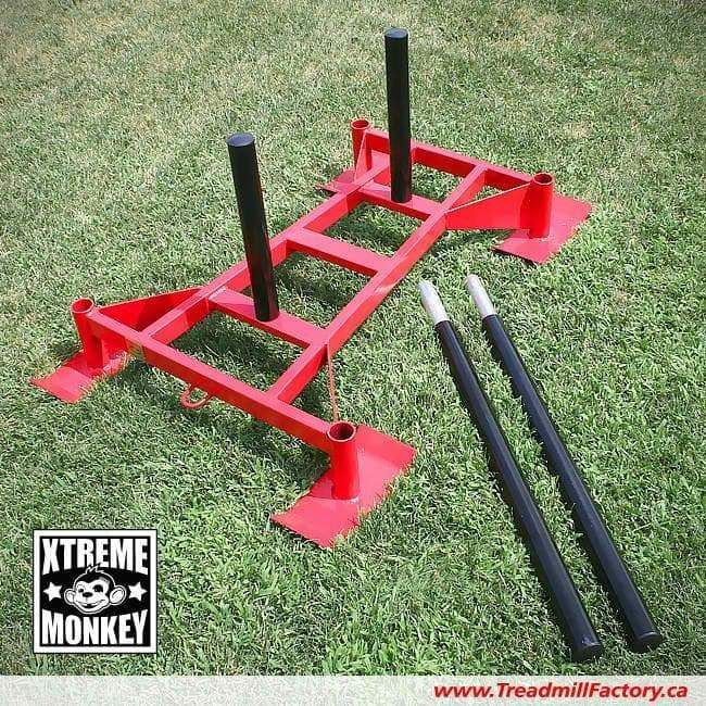 Xtreme Monkey Professional Driving Sled - Red