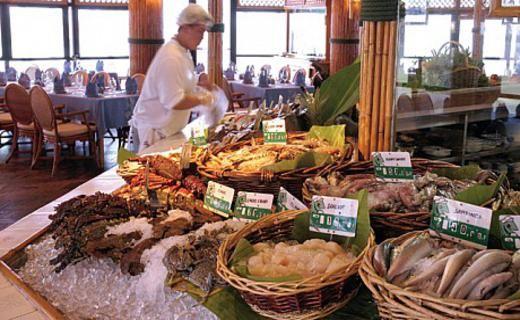 Fish Market Intercontinental Abu Dhabi Thai Style Live Ruby