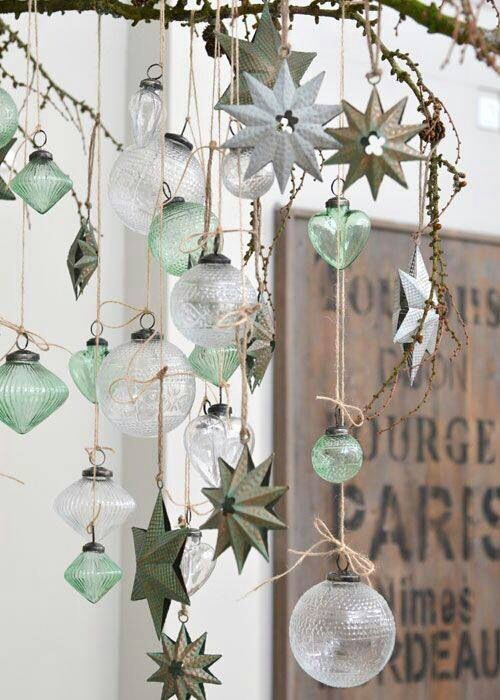 Vintage Christmas Ideas For Decorating Part - 16: Check Out 20 Best Vintage Christmas Decorations Ideas. A Very Nice Way To  Marry Vintage Christmas Decorations Into The Home Is To Align Them Into  Displays ...