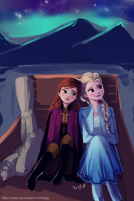 Frozen2 travel by TDYTG on DeviantArt