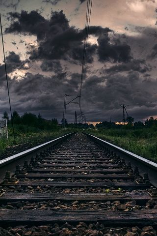 Train Track Android Wallpaper HD | Wallpapers & Themes in 2019 | Hd