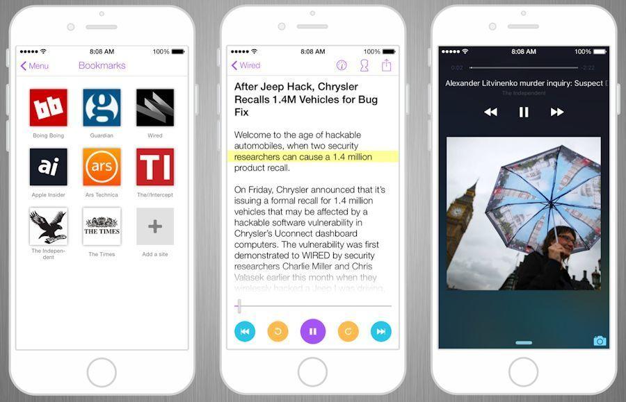 Telme John App Texttospeech App for iOS App, Speech