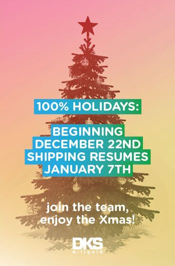 Shipments are going to be suspended during Xmas holidays ;)