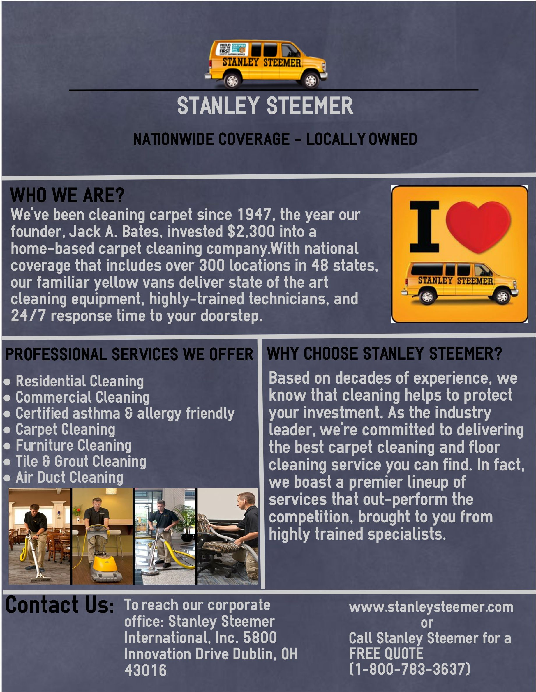 Pin By Vin Diesel On Stanley Steemer Residential And