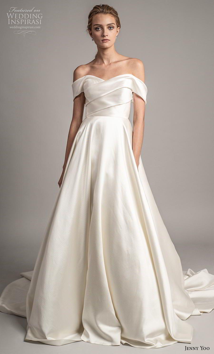 Jenny Yoo Spring 2019 Wedding Dresses Wedding Inspirasi Classic Wedding Dress Wedding Dress With Pockets Wedding Dress Silhouette Guide [ 1485 x 900 Pixel ]