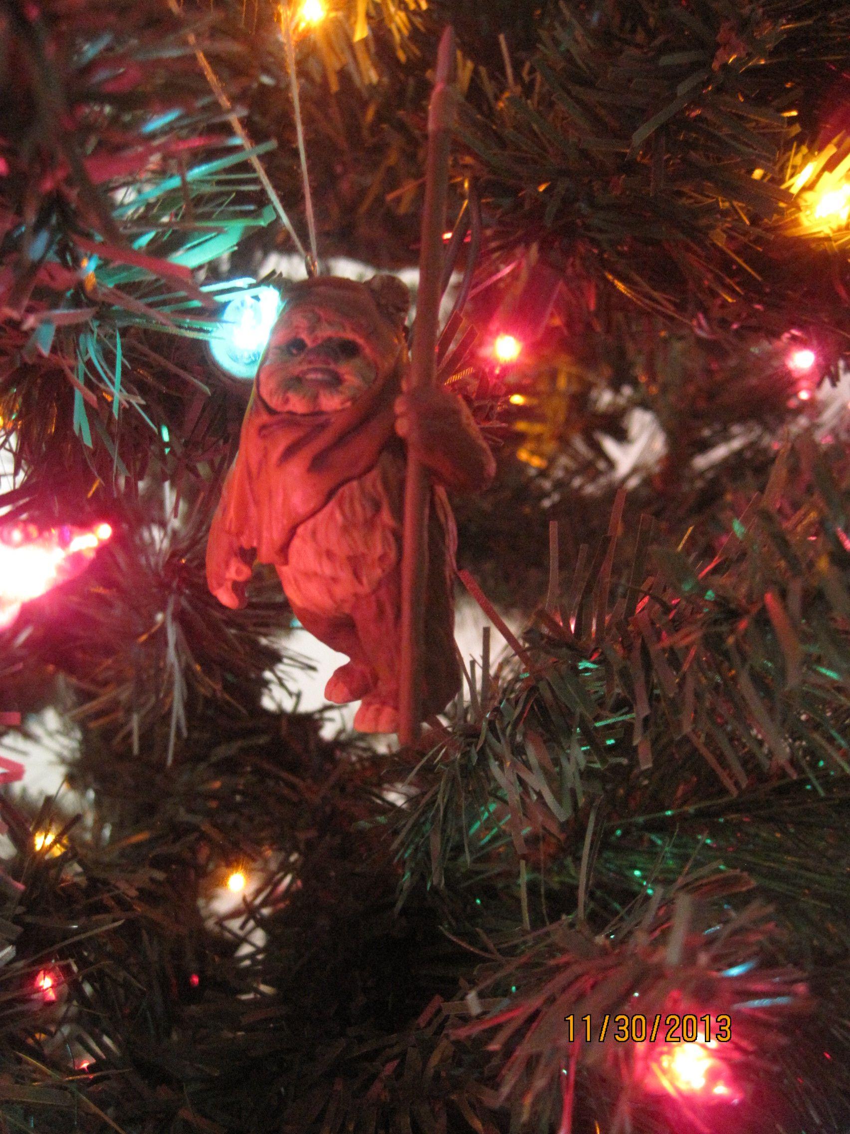 My Ewok Christmas ornament!! | Cutie Cute Stuff! | Pinterest | Ewok
