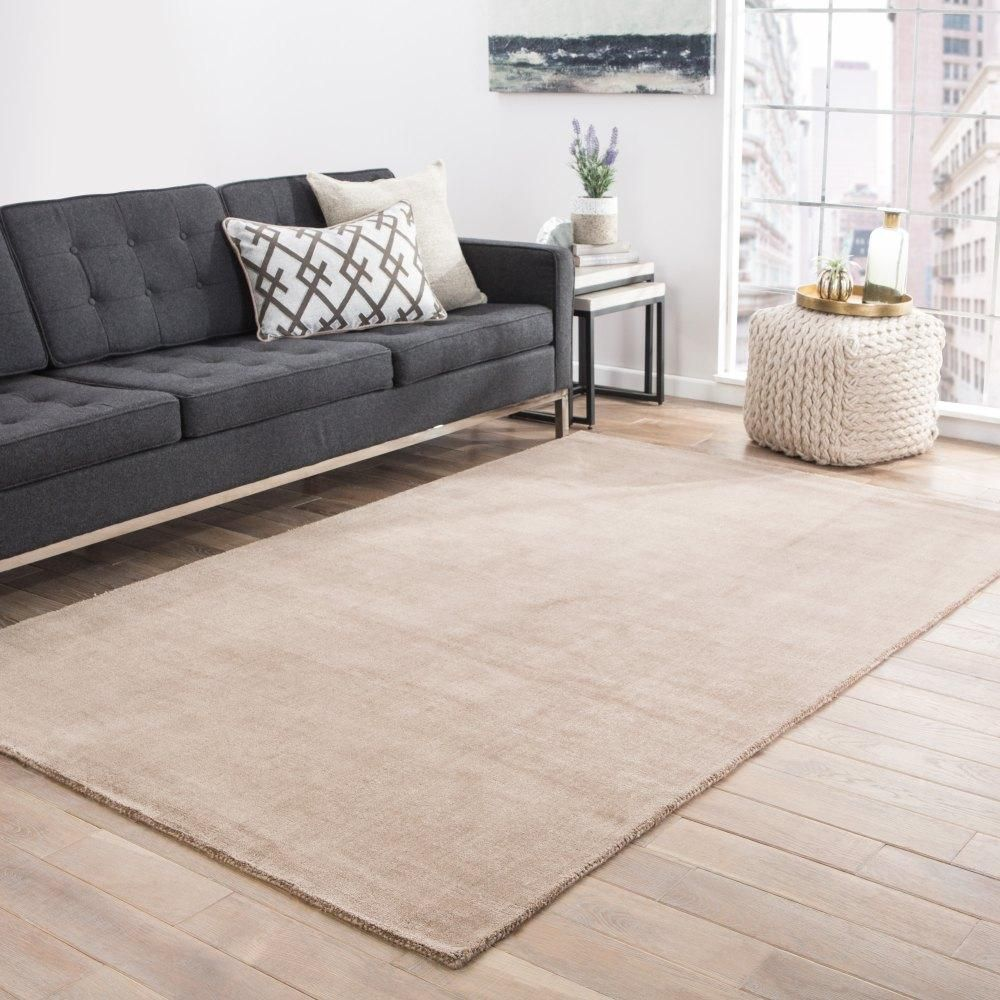 Abbott ABT03 Appleton Feather Gray Rug Beige area rugs